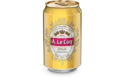 A.Le Coq Gold olut 4,7% 0,33l