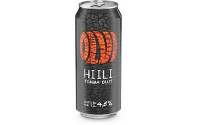 Olvi Hiili -olut 4,5% 0,5l tlk