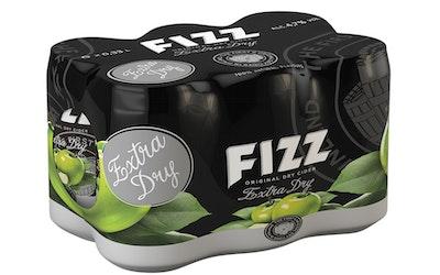 Fizz Extra Dry Cider 4,7% 0,33l 6-pack