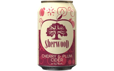 Sherwood Cherry-Plum 4,7% 0,33l