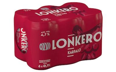 Olvi Karpalolonkero 4,7% 0,33l 6-pack