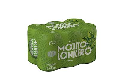 Olvi Mojitolonkero 4,7% 0,33l tlk 6-pack