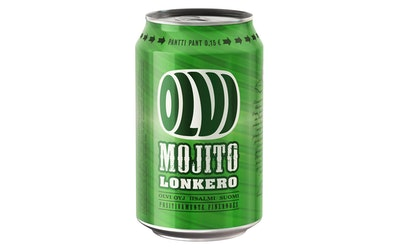 Olvi Mojitolonkero 4,7% 0,33l tlk
