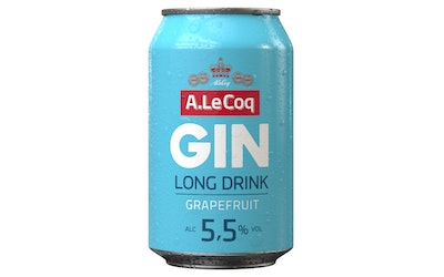 A. Le Coq Grapefruit Long Drink grapefruit 5,5% 0,33l