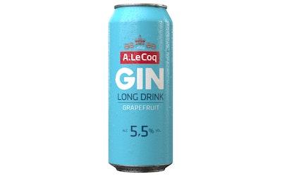 A. Le Coq Grapefruit GIN 5,5% 0,5l