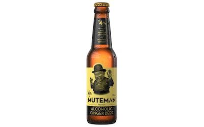 Muteman Ginger beer 4,0% 0,33l