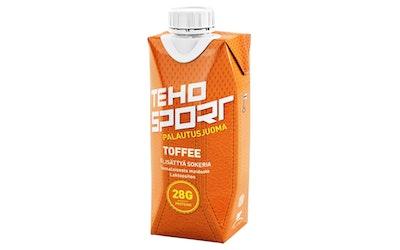 TEHO Sport palautusjuoma 0,33l Toffee