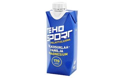 TEHO Sport palautusjuoma 0,33l Valkosulklaa-vanilja+Magnesium tetra