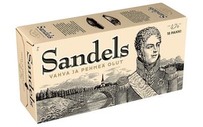 Sandels 4,7% 0,33l 18-pack