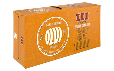 Olvi III 4,5% 0,33l 18-pack