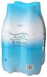 KevytOlo Raikas kivennäisvesi 1,5L 4-pakki