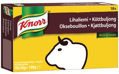 Knorr Lihaliemi liemikuutio 18 x 10 g