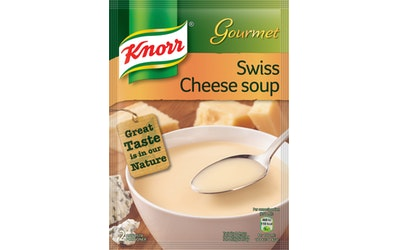Knorr kuivakeitto 49g sveitsiläin juusto