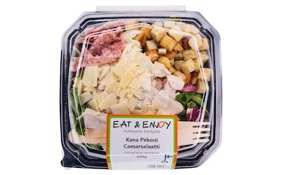 Eat&Enjoy Kana pekoni caesarsalaatti 230g
