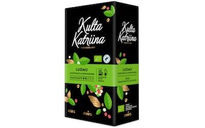 Kulta Katriina kahvi 450g suodatinjauhatus, luomu
