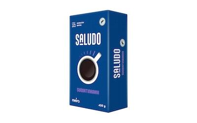 Saludo kahvi 450g suodatinjauhatus
