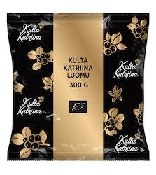 Kulta Katriina 18x300g Luomu karkeaksi jauhettu suodatinkahvi