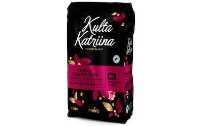 Kulta Katriina papukahvi 500g tummapaahto