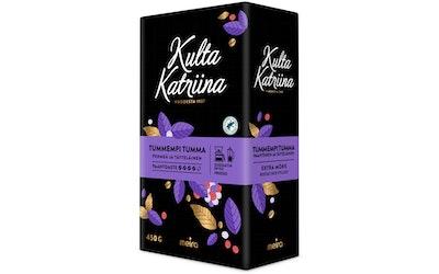 Kulta Katriina tummempi tumma kahvi 450g suodatinjauhatus