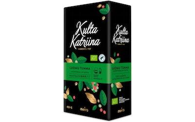 Kulta Katriina 450g Luomu tumma pannujauhatus