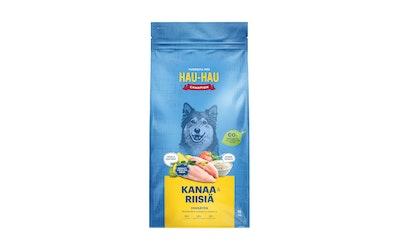 Hau-Hau Champion täysravinto kaikille aikuisille koirille 15kg kana-riisi