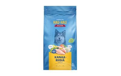 Hau-Hau Champion täysravinto kaikille aikuisille koirille 6kg kana-riisi