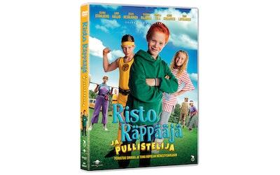 Risto Räppääjä ja Pullistelija DVD