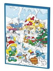 Smurffit joulukalenteri 200g