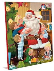 Santa Claus joulukalenteri 200g utz