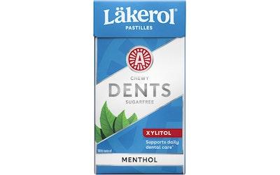 Läkerol dents menthol ksylitolipastilli 36g