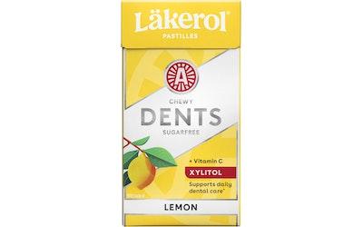 Läkerol dents lemon ksylitolipastilli 36g