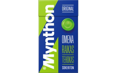 Mynthon 31g C Omena Sokton pastilli