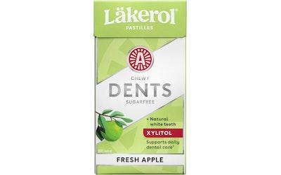 Läkerol dents apple fresh white ksylitolipastilli 36g