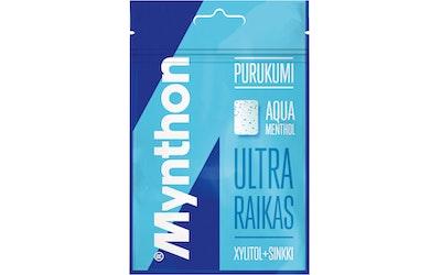 Mynthon fresh breath ksylitolipurukumi aqua menthol 44g