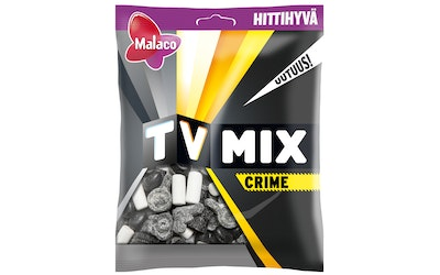 Malaco TV Mix Crime makeissekoitus 180g