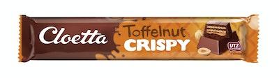 Cloetta crispy suklaap 50g toffelnut utz