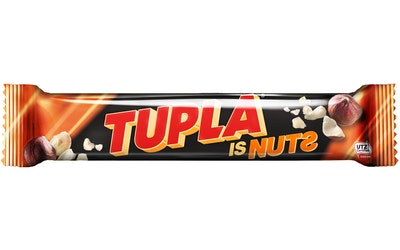 Tupla Is Nuts suklaapatukka 80g UTZ