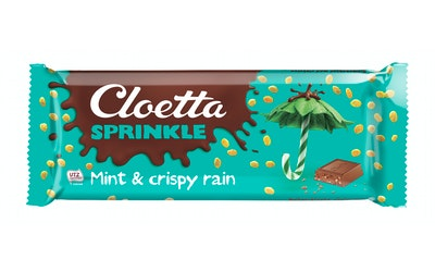 Cloetta Sprinkle suklaalevy 165g mint UTZ