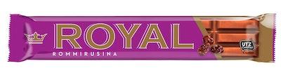 Royal suklaapatukka 42g Rommirusina