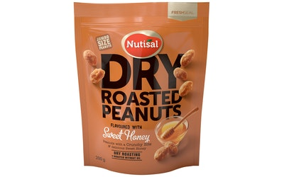 Nutisal DR Peanuts 200g Honey