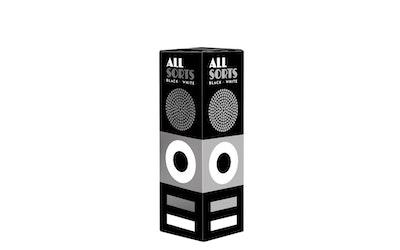 Malaco Allsorts rs 800g black&white