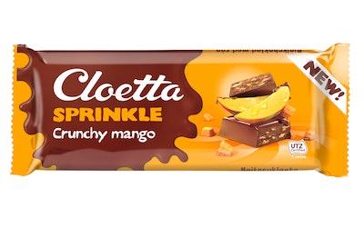 Cloetta suklaalevy 75g crunchy mango UTZ
