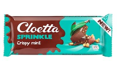 Cloetta suklaalevy 75g crispy mint UTZ