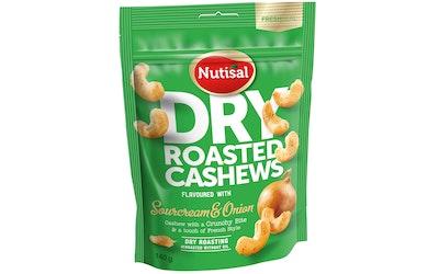 Nutisal cashew 140g sourcream-onion