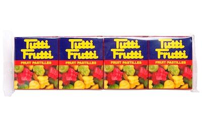 Tutti Frutti 4-pack 68g hedelmäpastilli