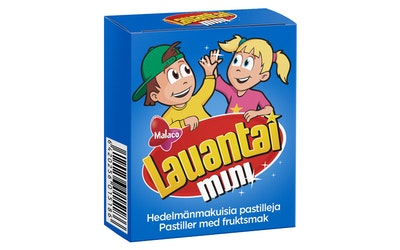 Mini Lauantai 20g pastilli