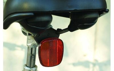 Herrmans takaheijastin polkupyörän istuimeen, punainen