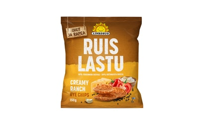 Rye chips creamy ranch 150g