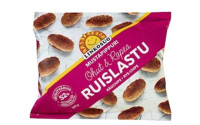 Linkosuo Ruislastu 100g mustapippuri