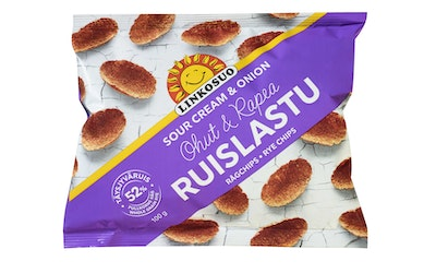 Linkosuo Ruislastu 100g Sour Cream & Onion